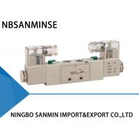 """Wholesale 5 Way 2 Position Pneumatic Solenoid Valve 1 / 4 """" 1 / 8 """" YPC Type Sanmin from china suppliers"""