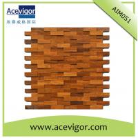 Wholesale Mosaic wood wall tiles for indoor decoration from china suppliers