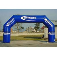 Wholesale Party / Events Logo Printed Advertising Inflatable Arch Double And Quadruple Stitching from china suppliers
