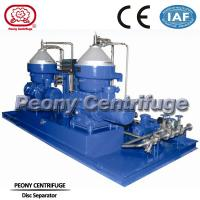Quality Fuel Oil Disc Separator - Centrifuge , Solid Liquid Separation Equipment for sale
