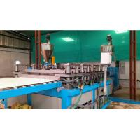 Buy cheap Furniture WPC Foam Board Machine , Conical Twin Screw Extruder from wholesalers