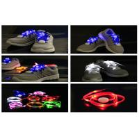 Wholesale Super Shining New Generation LED Light Shoelaces Powered With CR2032 Coin Battery from china suppliers