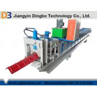 Wholesale Metal Roof Ridge Cap Roll Forming Machine Used with Colorful Roofing Tile Sheets from china suppliers