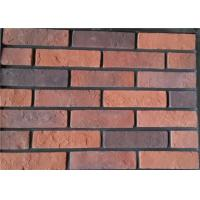 Wholesale Steam - Crued Faux Brick Veneer Exterior Thickness 10-15mm With Cement / Pigment from china suppliers