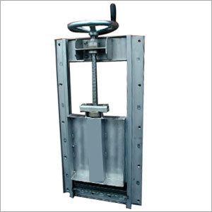 Square casting iron sluice gate