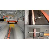 busbar power steel pipe handle trolley for steel and iron factory