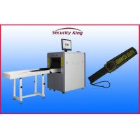 Wholesale Auto Alarm X Ray  Security Scanner , Airport Security Scanners with Handheld Metal Detector from china suppliers