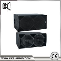 """Wholesale CVR PRO AUDIO 2* 18 """" subwoofer speaker made in China 1200 WATT sub- bass from china suppliers"""