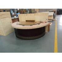 Buy cheap New Design Restaurant Teppanyaki Grill Table with Semi-circle Table Top from wholesalers