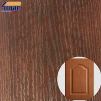 Wholesale PVC Furniture Film Texture Decorative PVC Wood Grain Film For Membrane Pressing from china suppliers