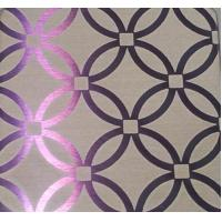 Wholesale Mirror / Hairline Finish Ti-Coating Colored Etched Stainless Steel Sheets For Decoration from china suppliers