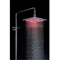 Wholesale Modern Stainless Steel Shower Head LED Light 200 x 200 x 10.5mm from china suppliers