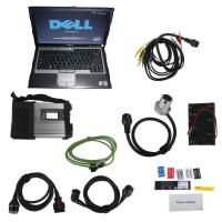 Wholesale WIFI V2017.07 MB Star C5 SD Connect Compact C5 with Dell D630 Laptop for Cars and Trucks from china suppliers