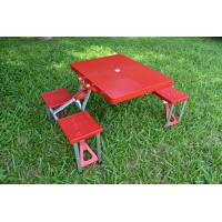 Wholesale Stainproof Plastic ABS Folding Camping Table And Chairs For Indoor / Outdoor from china suppliers