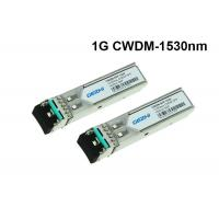 Wholesale CWDM-SFP-1530 Cisco 1.25Gbps CWDM SFP Module 1530nm 80km optical transceiver from china suppliers