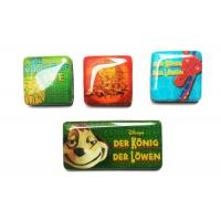 China Customized 3D colorful epoxy resin fridge magnet travel souvenir on sale