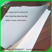 Wholesale White Coated Duplex Board with Grey Back 235g 200g duplex board for sale from china suppliers