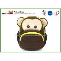 Wholesale 3D Monkey lightweight neoprene  Kids Travel Backpack For children school from china suppliers