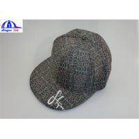 Quality Emboridery Logo Polyester Double Layer Sports Baseball Caps for Women / Men for sale