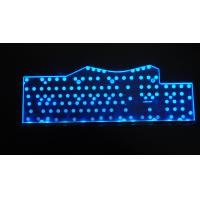 Wholesale Big Size Pink / Purple Bluetooth LED Backlight Keyboard For Laptop / IPAD Mini from china suppliers