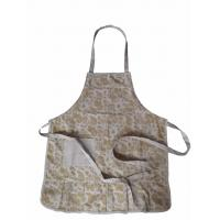 Wholesale Drawstring Length Adjustable Cotton Canvas Apron from china suppliers