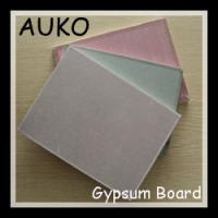 Wholesale Hot Sell Decorative Common  Plasterboard /Reinforced Fiberglass Gypsum Board from china suppliers