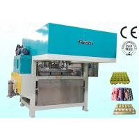 Wholesale Egg Tray Pulp Moulding Machine Semiautomatic CE Approved 800Pcs / H from china suppliers