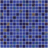 Wholesale Sanding blue 20mm glass mosaic blend pattern for swimming pool building from china suppliers
