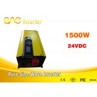 Wholesale 220v 230v pure sine wave UPS Solar inverter 1500 watt 1.5kva With Transfer Switch / Battery from china suppliers