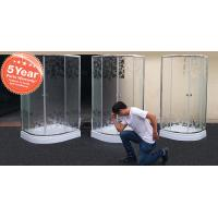 Buy cheap MISTY GLASS SHOWER ENCLOSURE from wholesalers