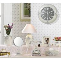 Wholesale Decorative euro style Wall Clock resin Wall Clock 10inch from china suppliers
