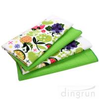Wholesale Simple Designs Custom Microfiber Cloth , Embroidered Microfiber Towel 30*60 Fastdry from china suppliers
