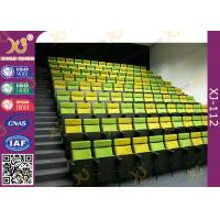 Wholesale Metal Lecture Hall Seating / Musical Hall Seats / Stacking Church Chairs with Book Net from china suppliers