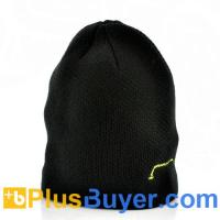 Wholesale Warm Beanie Hat with Headphones - Black from china suppliers