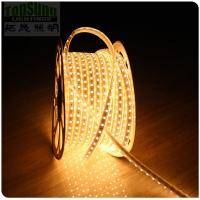 Wholesale AC ip65 tape led light  50m flexible strip 130V 5050 smd strip  60LED/m warm white from china suppliers