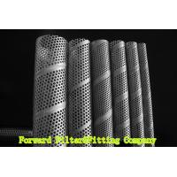 Wholesale SUS304 / 304L SS Perforated Metal Tube , Filtration / Separation Tubes For Water Treatment from china suppliers