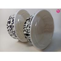 Wholesale Custom Food Grade 44oz / 34oz / 38oz Paper Salad Bowls With Glossy Finished from china suppliers