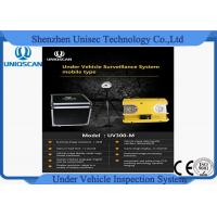 Wholesale Hig resolution CCD camera UV300m under vehicle inspection system from Uniqscan from china suppliers