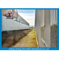 Wholesale Anti Climb Fence Panels , Security Fencing Mesh With 4mm Wire Diameter from china suppliers