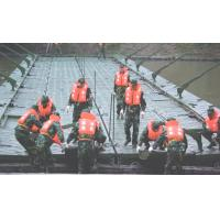 Wholesale Single Heavy Ribbon Military Pontoon Floating Bridge For Tank, Artillery Transportation from china suppliers