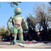 Wholesale Giant 6m Height Inflatable Stand Ninja Turtle for Outdoor Display from china suppliers