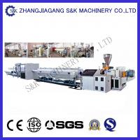 Buy cheap Plastic Large Diameter Pe Hdpe Pipe Extrusion Line For Water Supply Single pipe extruder  CE from wholesalers