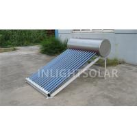 Wholesale High Absorption 120L Non Pressurized Solar Water Heater With Water Tank And Solar Collector from china suppliers
