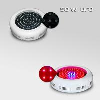 Wholesale Indoor 90w 2700lm UFO LED Plant Grow Lights , 90 * 1W Flower / Vegetable Grow Lamp from china suppliers