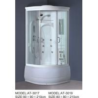 Wholesale ABS shower stall 800mm Quadrant Shower Enclosures with tray and waste 230V Voltage from china suppliers