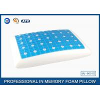 Wholesale Reversible Ventilated Cooling Gel Memory Foam Pillow With Air Holes 60X40CM Size from china suppliers