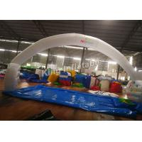 Wholesale 210D Nylon 10*5m White Unsealed Inflatable Arches For Event Or Advertising from china suppliers