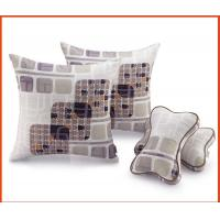 Wholesale Square Printed Cotton Throw Pillows / Sofa Cushions 45x45cm For Car Seat from china suppliers