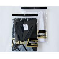 Wholesale Recyclable Ziplock Clothes Bags 3 Sides Sealing With Hanging Hole from china suppliers
