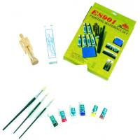 Wholesale Fine Art Painting Set Art Kits For Teenager Manikin Canvas Panel Included from china suppliers
